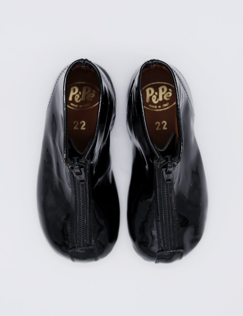 [PEPE SHOES]] 0225 Venice BLACK PATENT