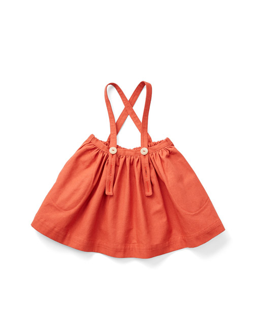 [SOOR PLOOM]Mavis Skirt,Pomme