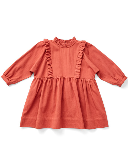 [SOOR PLOOM]Percy Dress, Pomme [4Y,6Y]