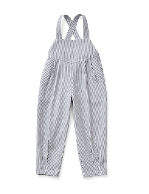 [SOOR PLOOM]Imogen Overall, Engineer Stripe