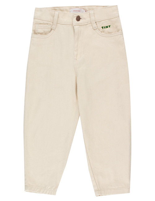 [TINY COTTONS] SOLID BAGGY PANT _ cream [8Y]