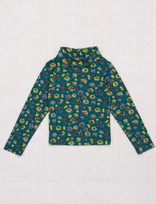 [MISHAANDPUFF]Turtleneck _ Laurel Brimfield Print