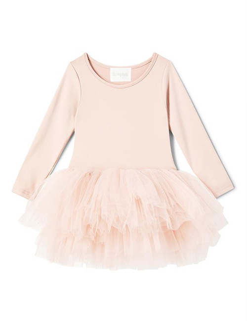 [I Love Plum]  B.F.F. Tutu Dress _ Shirley Pink[4Y, 6Y, 8Y]