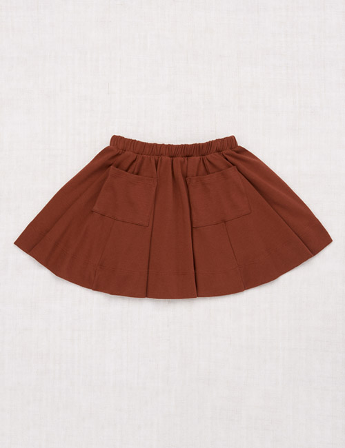 [MISHAANDPUFF]Circle Skirt _ Chestnut