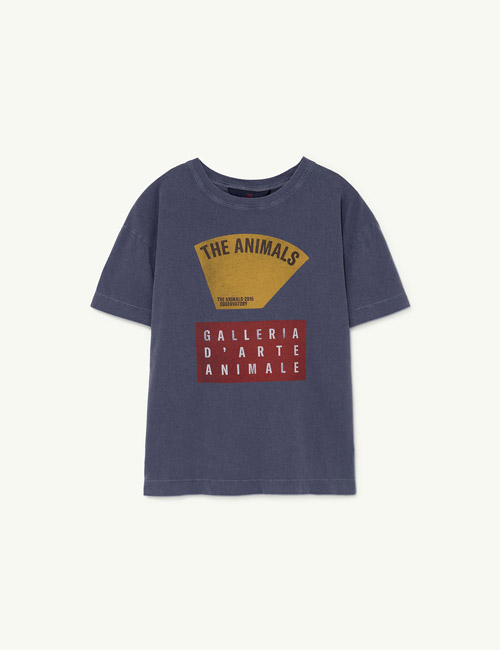 [T.A.O]ROOSTER KIDS+ T-SHIRT_Navy Scale [3Y]