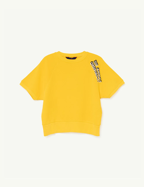[T.A.O] SQUAB KIDS T-SHIRT_Yellow The Animals [4Y]