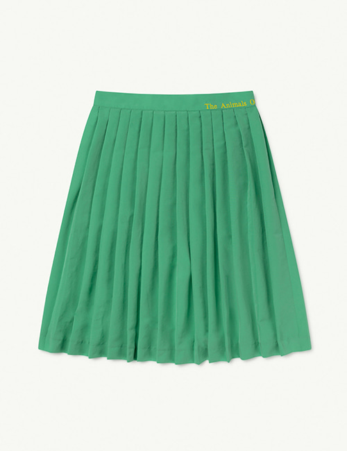 [T.A.O]  CAT KIDS SKIRT _ Green The Animals