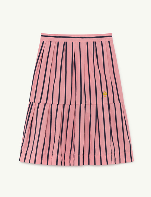 [T.A.O]  TURKEY KIDS SKIRT _ Pink Stripes