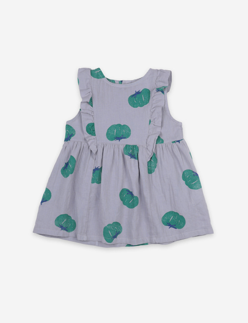 [BOBO CHOSES] Tomatoes All Over Ruffle Dress[12-18m, 18-24m]