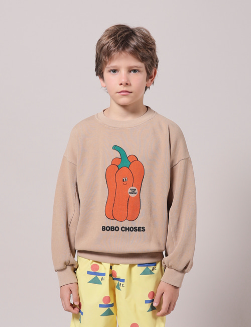 [BOBO CHOSES] Vote For Pepper Sweatshirt