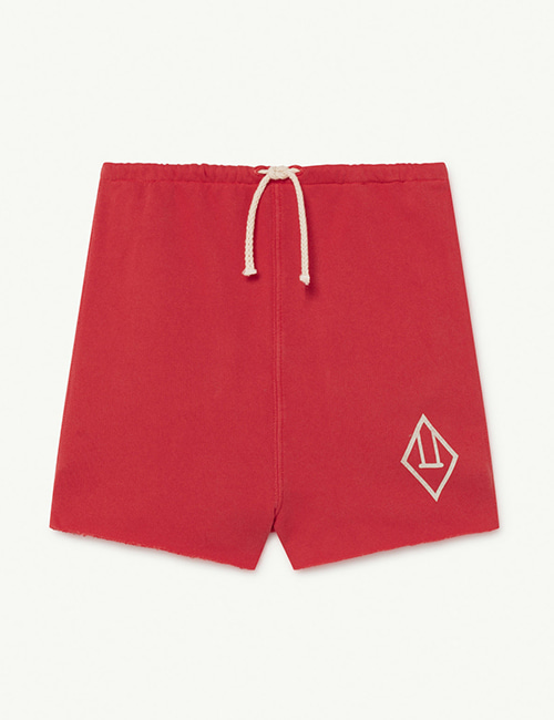 [T.A.O]  HEDGEHOG KIDS+ TROUSERS _ Red Logo