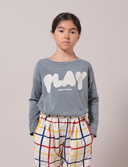 [BOBO CHOSES] Play Long Sleeve T-Shirt[2-3y,  8-9y, 10-11y]