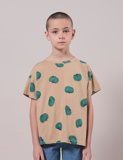 [BOBO CHOSES] Tomatoes All Over Short Sleeve T-Shirt[4-5y, 6-7y, 8-9y]