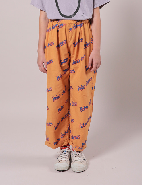 [BOBO CHOSES] Bobo Retro All Over Baggy Trousers