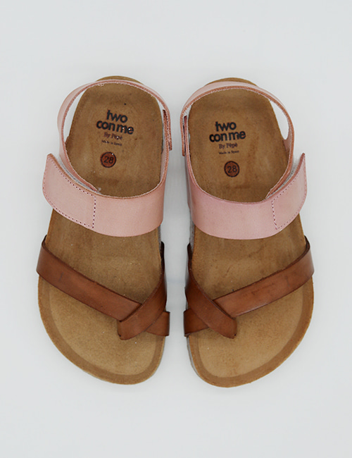 [PEPESHOES] TWO CON ME BK5 MARR/ ROSA[28,29,33]