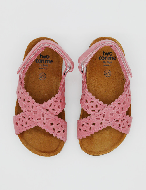 [PEPESHOES] TWO CON ME BK12 ROSA SCURO[24,25,26,27]