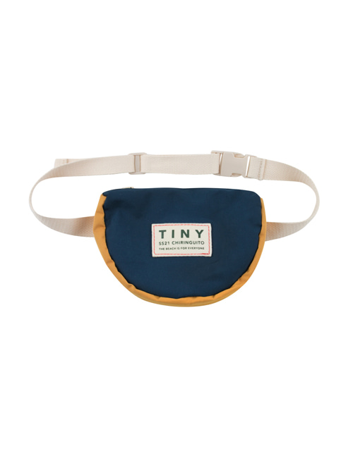 [TINY COTTONS]  TINY COLOR BLOCK FANNY BAG _ ink blue